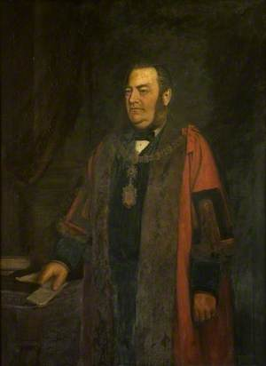 Alderman John Henry Vaux, JP