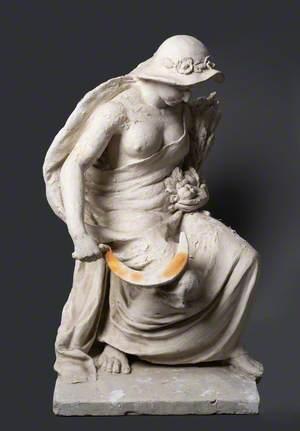 Figure Representing Agriculture