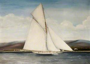 'Valkyrie III', America's Cup Challenger, 1895