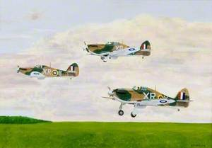 Hawker Hurricane, 71 Squadron RAF, 'First from the Eyries', No. 1 American Eagle Squadron