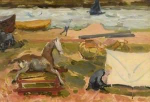 Rocking Horse, Seashore