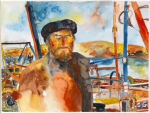 Self Portrait in Kinlochbervie