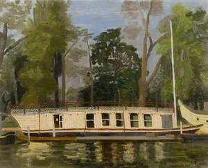 Exeter College Barge, Oxford
