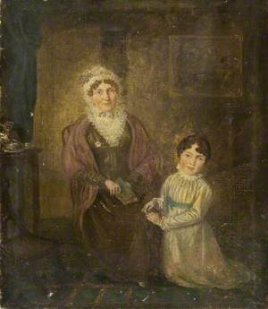 Old Woman and Child