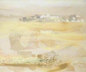 Pale Sun Landscape