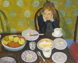 Anna at Table