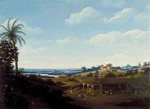 Brazilian Scene, a Sugar Mill