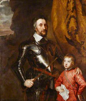 Thomas Howard, 2nd Earl of Arundel and Surrey (1585–1646), Patron of Art and Collector, with His Grandson