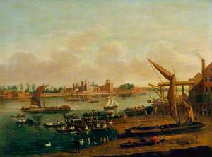 Lambeth Palace and the Horseferry from Westminster