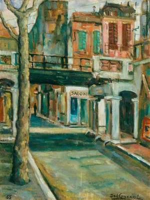 Scene in Italy