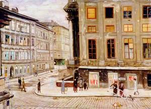 The Rasumovsky Palace, Vienna, Corner of Rasumofskygasse and Geusaugasse