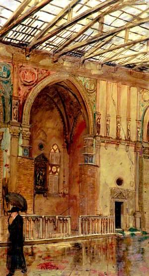 Temple of Malatesta, Rimini: Interior