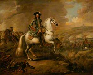 King William III (1650–1702) at the Battle of the Boyne