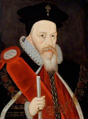 William Cecil (1520–1598), 1st Baron Burghley, Lord High Treasurer