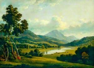 Scene in the Lake District