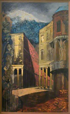 Bath, Composite of Bath Street and Corner of Camden Crescent