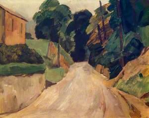 Lane in Shere