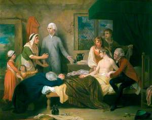 Resuscitation by Doctor Hawes of a Man Believed Drowned