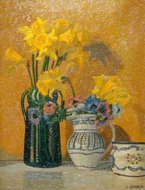 Daffodils and Anemones