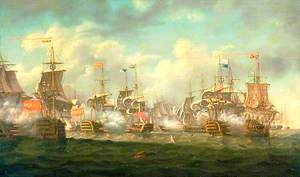 The Battle of St Vincent, 14 Februrary 1797