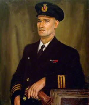 2nd Engineer Officer Gordon Love Bastian, MBE, AM, Merchant Navy