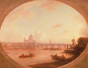 A View of St Paul's and Blackfriars Bridge