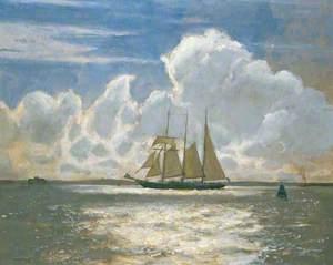 The 'Winston Churchill' Goes to Sea