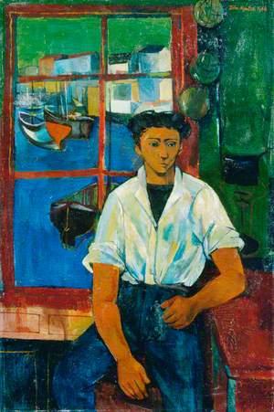 Cornish Boy at a Window