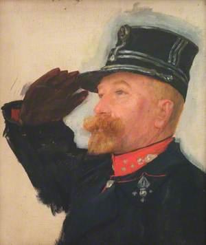 Colonel du Roy de Bliquet, Ordnance Officer to King Albert