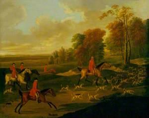 Hunting Scene, the Start