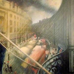 Sun and Rain over Regent Street