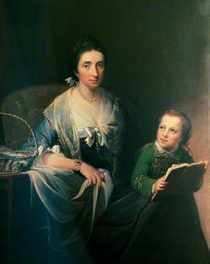 Sarah Vaughan, née Hallowell (1727–1809), and Her Son Richard Vaughan