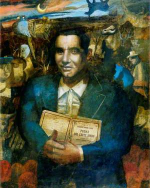 Icon of Federico García Lorca (1898–1936)