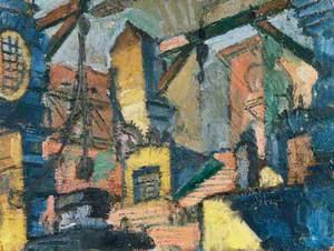 Study for Piranesi, Plate XIII