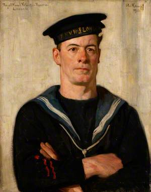 Cecil Arthur Tooke (1884–1966), Seaman, Royal Naval Volunteer Reserve