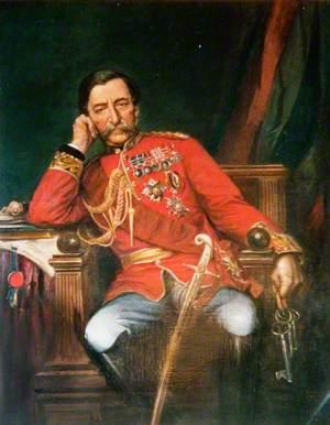 General the Right Honourable Robert Cornellis (1810–1890), Baron the Lord Napier of Magdala, GCB, GCSI, Governor of Gibraltar (1876–1883)