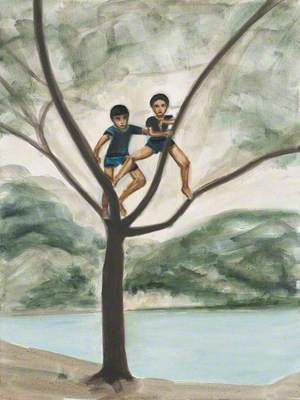 Two Boys in a Tree