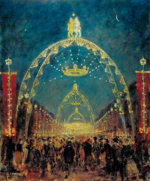 Coronation Night, The Mall