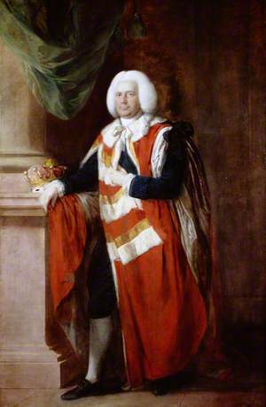 The Reverend Robert Sherard (1712–1799), 4th Earl of Harborough