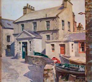 Boats in the Street, Stromness, Orkney