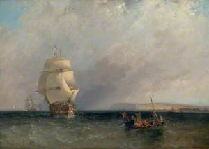 Seascape: Off the Straits of Dover