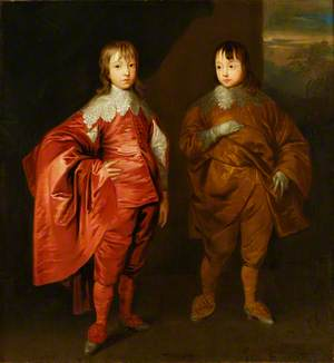 George Villiers (1628–1687), 2nd Duke of Buckingham, with His Brother, Lord Francis Villiers (1629–1648)