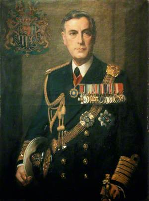 Louis, Earl Mountbatten of Burma (1900–1979), Admiral of the Fleet