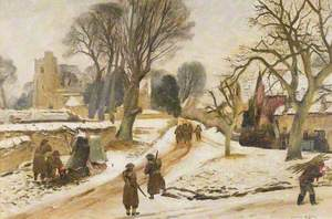 Village of Dinton, January 1941