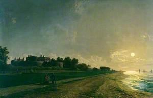 Walmer Castle by Moonlight