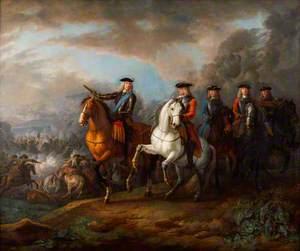 The Duke of Marlborough and the Earl of Cadogan at Blenheim (Hochstadt)