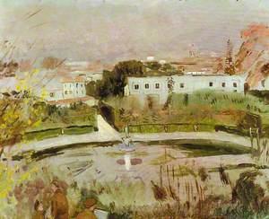 Army Sketching Class in Boboli Gardens, Florence