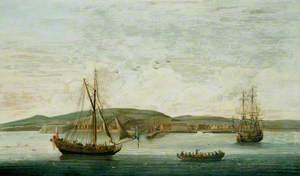 Men o' War off Newhaven, Sussex