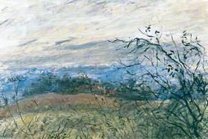 Fields above Boxford