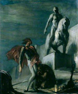 Don Giovanni and the Equestrian Statue